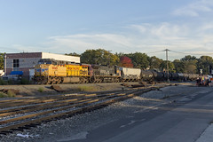 West Coast Visitors (sully7302) Tags: southern pacific up union ac44cw 6045 6415 k611 ethanol ridgefield park teaneck