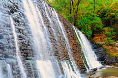 Fall at the Dam.jpg (gfred) Tags: water dam roswell roswellmill waterfall