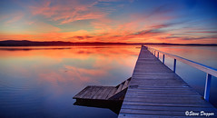 0S1A5073enthuse (Steve Daggar) Tags: longjetty sunset gosford nswcentralcoast wharf jetty lake reflection
