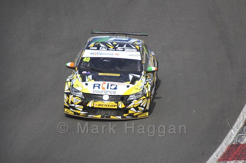 Aron Smith during the BTCC Brands Hatch Finale Weekend October 2016
