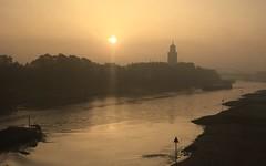 Sunrise in Deventer (Netherlands 2016) (paularps) Tags: arps paularps nederland netherlands sunrise deventer ijssel hanze hanzestad 2016 reizen travel europe europa