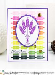 Thanksgiving Wheat (akeptlife) Tags: card cardmaking stamping casualfridays thanksgiving wheat dies