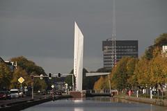 Witterbrug in Assen (willemsknol) Tags: vaart assen willemsknol