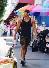 IMG_9059 (danimaniacs) Tags: chicosangels losangeles dtla hot sexy man guy tanktop hat cap hunk