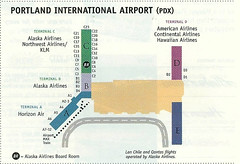 Alaska PDX diagram, May 2002 (airbus777) Tags: alaskaairlines as airport diagram map terminal pdx portland 2002