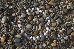 Pebble Circle (brucetopher) Tags: pebbles stones rocks gravel colorful beach pattern texture shape squared rocky white geometry geometric basic circle