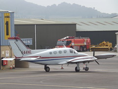 N44NE Cessna 414 J & G Aviation Inc Trustee (Aircaft @ Gloucestershire Airport By James) Tags: gloucestershire airport n44ne cessna 414 j g aviation inc trustee egbj james lloyds