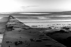 East sands beach ( St Andrews) (jamesdewar99) Tags: motionblur stormyseas waves fife scotland seascape sea outdoor mono canon tamron1750mm