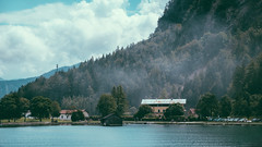 Achensee (alxandru555) Tags: achensee achen lake austria tirol tyrol alps water nature landscape house tree trees fuji fujifilm xe2 color sky clouds summer