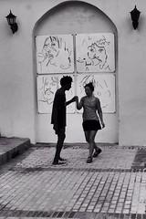 Ritmo nel sangue                 -Santa Clara- Cuba (chiar's) Tags: bw blackandwhite biancoenero salsa musica danza dance santaclara cuba