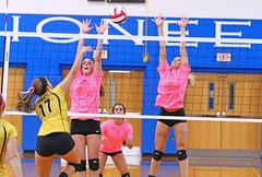 IMG_10377 (SJH Foto) Tags: girls volleyball high school lampeterstrasburg lampeter strasburg solanco team tween teen east teenager varsity net battle spike block action shot jump midair