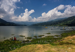 (Nathan A Rodgers) Tags: travel nepal mountain mountains nature landscape landscapes asia lakes countries pokhara annapurna himalayas 2012 southasia travelphotography phewalake westernregion