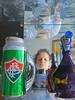 Lost in translation (Antropoturista) Tags: blue red brazil reflection green ego bottle selfie fluminense campinagrande