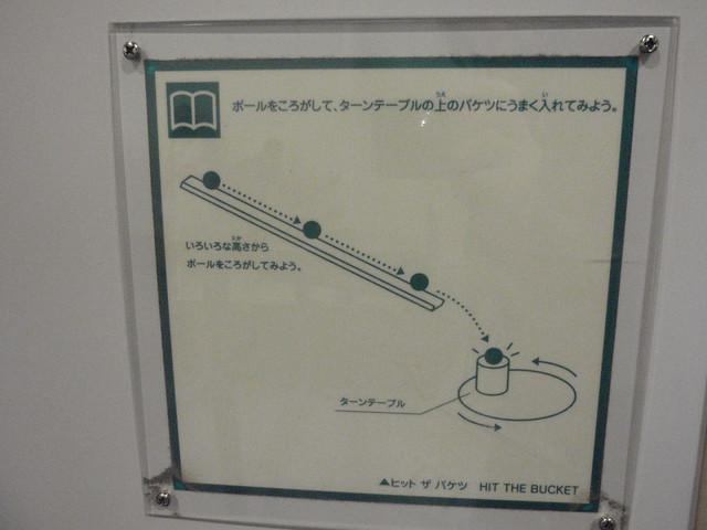 「お勉強」系のボール遊びができます。 キッズプラザ大阪