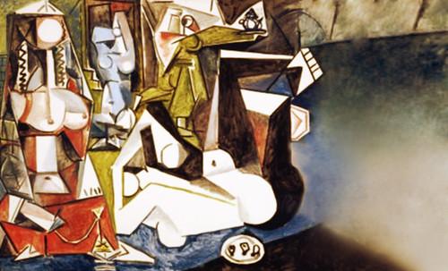 """Odaliscas (Mujeres de Argel) yuxtaposición y deconstrucción de Pablo Picasso (1955), síntesis de Roy Lichtenstein (1963). • <a style=""""font-size:0.8em;"""" href=""""http://www.flickr.com/photos/30735181@N00/8748001324/"""" target=""""_blank"""">View on Flickr</a>"""