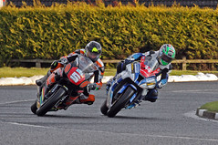 Ansty and Seeley (yamahagarn) Tags: northernireland platinumheartaward superstockrace alastairseeley padgettshonda msskawasaki bruceansty northwest2002013