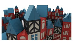 Wooden building Block 3D Model 02 (Sidewinder Partnership) Tags: door city roof building brick window wall architecture vintage town timelapse construction cg triangle cityscape arch village apartment structure clocktower cube highrise animation gloss block hd build townscape wedge scandinavian cgi construct herringbone woodenblocks motiongraphics woodenbricks woodenbuildingblocks woodenconstructionsettoybuildingblocks