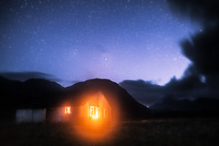 (CharlieReynolds) Tags: wild sky mountain mountains skye night clouds stars landscape fire scotland highlands space warmth astro astrophotography wilderness exploration hebrides camasunary londexposure sigma35mmf14 canoneos5dmkii