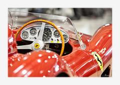 Ferrari 500 TRC (Riccardo Centofante) Tags: italy car rain canon italia ferrari pioggia brescia frecciarossa fieradibrescia 1000miglia2013 millemiglia2013