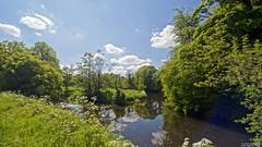 River Lagan Towpath (GQ Gallery) Tags: trees sun green rural river bright scenic peaceful calm valley northernireland lush idyllic towpath lisburn lagan coantrim