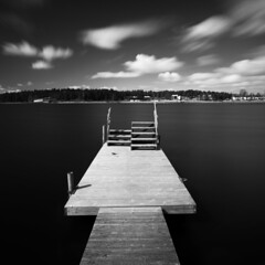 Btbusshllplats (- David Olsson -) Tags: city longexposure blackandwhite bw lake motion water monochrome clouds stairs square landscape mono pier movement nikon bright cloudy sweden jetty windy karlstad le april grayscale sunlit fx polarizer midday squarecrop vnern cpl lunchbreak contrasty d800 brygga vrmland 1635 polarizingfilter ndfilter blackglass 1635mm naturum 2013 mariebergsviken orrholmen hardcontrasts floatingpier mariebergsskogen davidolsson nd500 lightcraftworkshop 1635vr btbusshllplats