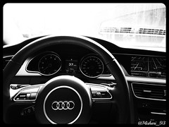 Ride or Die (@Mishari_93) Tags: white black interior autoshow audi a5 laautoshow s5 rs5 uploaded:by=flickrmobile flickriosapp:filter=orca orcafilter