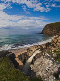 close to Sandwood Beach NW Scotland