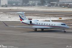 N100A (dabianco87) Tags: aircraft aeroplano aerei plane zrh zurich kloten exxonmobilcorporation gulfstream g650 n100a