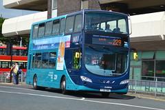Arriva VDL DB300 1541 YJ61OBR - Huddersfield (dwb transport photos) Tags: ariva vdl wright eclipse gemini bus decker 1541 yj61obr max huddersfield