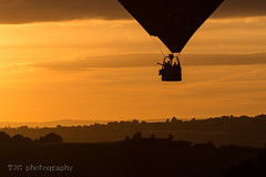 Balloon over Manor Farm, Upton Cheyney (T J G photography) Tags: 2016 d610 silhouette manor farm bristol balloon nikon fiesta 70200 international upton cheyney nikkor