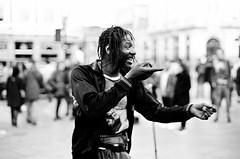 Camden Town (celinebregand) Tags: streetphotography photography nikonf2 blackandwhite analog film filmisnotdead people london camdentown