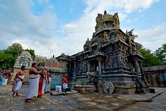 "Melakkadambur-Amirtaghatesvarar Temple-Kattumannarkoyil-Cuddalore District. (Kalai ""N"" Koyil) Tags: nikon d 5200 tokina 1116mm 2016 melakadambur karakoyil amirthkadesvarar temple cuddalore district tamilnadu southindiantemple architecture"