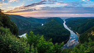 Sunrise at the Saarschleife - Germany