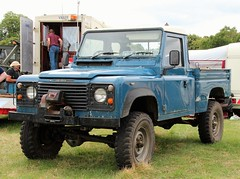 C754 XFH (Nivek.Old.Gold) Tags: 1986 land rover 110 high capacity pick up 2495cc diesel hcpu