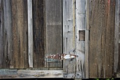 Bay Weathered Wood and Rusted Hinge ... (sswj) Tags: weatherd bay oldwood rusted oldwoodrustedhinge historicbuilding chinacamp sanrafael sanpablobay marincounty northerncalifornia california composition texture scottjohnson dslr fullframe availablelight naturallight existinglight nikon d600 nikkor28300mm abstractreality abstract sanfranciscobayarea