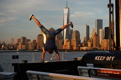 Keep off (christophwagner) Tags: sky harbour sightseeing sicht bist sein freedom new york newyork nyc sunset lights travel colors america usa buildings architecture architektur skyline people peopleofnewyork one world trade center photography reisen moment live life sony photographing