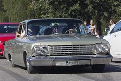 1962 Bel Air (Steffe) Tags: chevroletbelair subculture raggartrff vegabaren grandprixraggarbil2016 handen haninge sweden summer