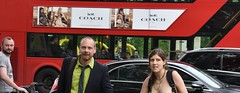 London Bus (Le monde d'aujourd'hui) Tags: street bus coach wnbr worldnakedbikeride 2016 june red londonbus london two redbus city england