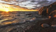 Hanko sunset_vol2 (p hakala p) Tags: sunset hanko sun going down sea finaland finnish archipelago hang outdoor landscape sky