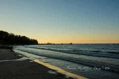 20160828-IMG_7733-WM (Pamela McLellan Zmija) Tags: pamelamclellanzmija saugeenshores portelgin sunset beach lakehuron goblesgrove sunshine