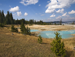 West Thumb (YellowstoneNPS) Tags: yellowstone nationalpark whj williamhenryjackson photography historic historical contemporary thenandnow yellowstonelake westthumb thermal geyserbasin 276 grantvillage wyoming usa