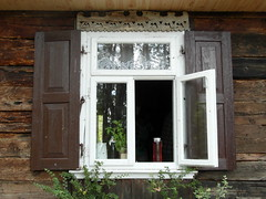 another urle window (kexi) Tags: open window old curtains poland polska polen polonia pologne urle samsung wb690 july 2015 dissymmetry reflection instantfave
