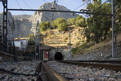 Perspectiva (torresgarciac) Tags: vias tren railes train tunel caminito rey malaga alora ardales chorro estacion ferrocarril costa del sol