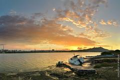(szintzhen) Tags:             sunset sungloe sky boat water cloud reflection taipeicity taiwan photomerge