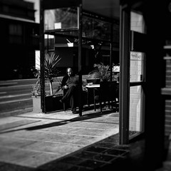 Everyday #Adelaide No. 343 (1)  (Autumn/Winter) (michelle-robinson.com) Tags: southaustralia people capturinghumanity xt10 candid capturinglife documentary bw australia everyday everydayadelaide life everydayaustralia photography instagram dailylife cityliving streetphotography xseries blackandwhitephotography streetphotographer fujifilm flickrelite 4tografie adelaide everydayeverywhere citylife michellerobinson streetlife urban monochrome michmutters streetphoto adelaidecbd street man shadows