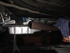 IMG_3228 (john.and.kath) Tags: jrd 1965 chevrolet impala engine conversion swap ls ls2 l76 4l65e 60l headers exhaust manifold pipes vht paint sandblast gritblast