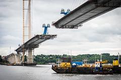 Fourth Bridge-1902 (carolinanegel@gmail.com) Tags: queensferry scotland edinborough lothians bridge engineering cargo boat ferry shipsea