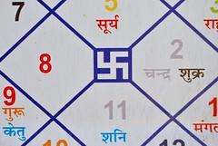 Swastika, Jaipur, India (CultureWise) Tags: india swastika symbols