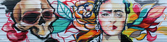 La otra cara/The other face (Noem pl.) Tags: graffiti arte urbano arteurbano otracara calavera belleza theotherface face art urban