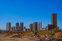 Pretoria CBD, South Africa (Paul Saad) Tags: pretoria buildings street sky southafrica towers skyscraper skyline